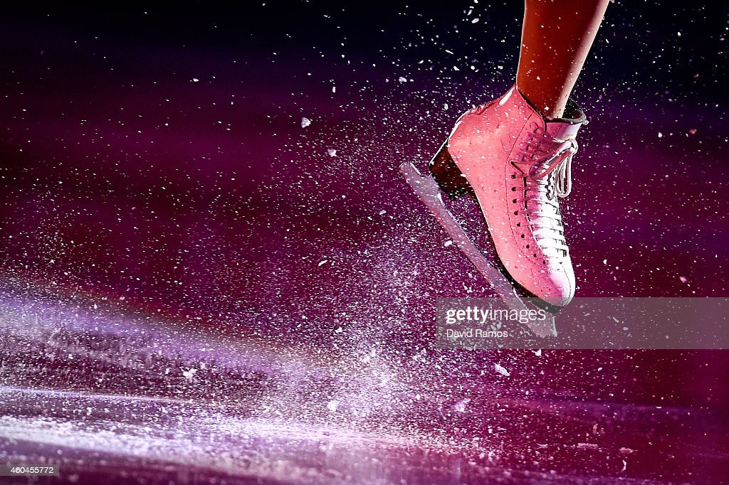 <a gi-track='captionPersonalityLinkClicked' href=/galleries/search?phrase=Ashley+Wagner&family=editorial&specificpeople=2564533 ng-click='$event.stopPropagation()'>Ashley Wagner</a> of the United States performs during day four of the ISU Grand Prix of Figure Skating Final 2014/2015 at Barcelona International Convention Centre on December 14, 2014 in Barcelona, Spain.