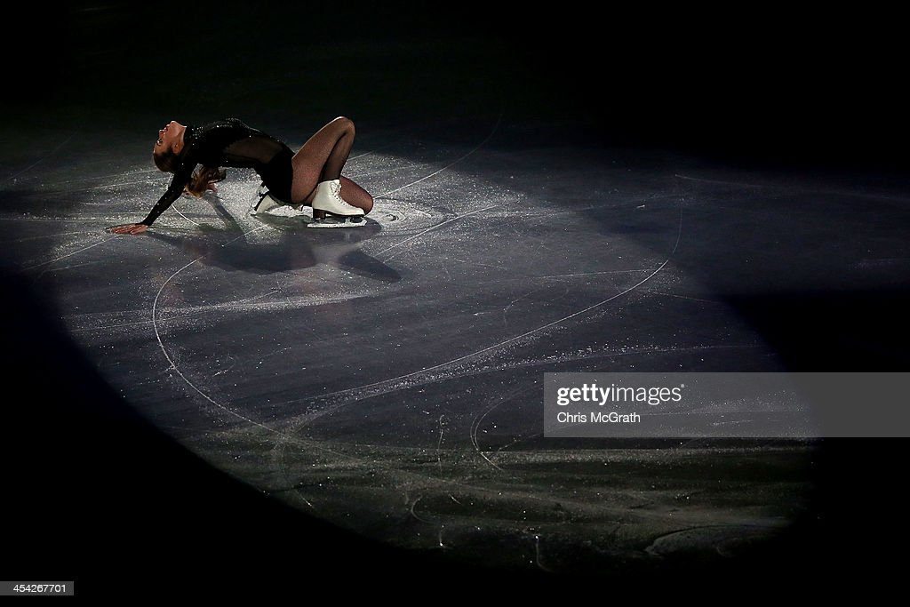 Ashley Wagner of the USA performs her routine in the ISU Gala during day four of the ISU Grand Prix of Figure Skating Final 2013/2014 at Marine Messe Fukuoka on December 8, 2013 in Fukuoka, Japan.