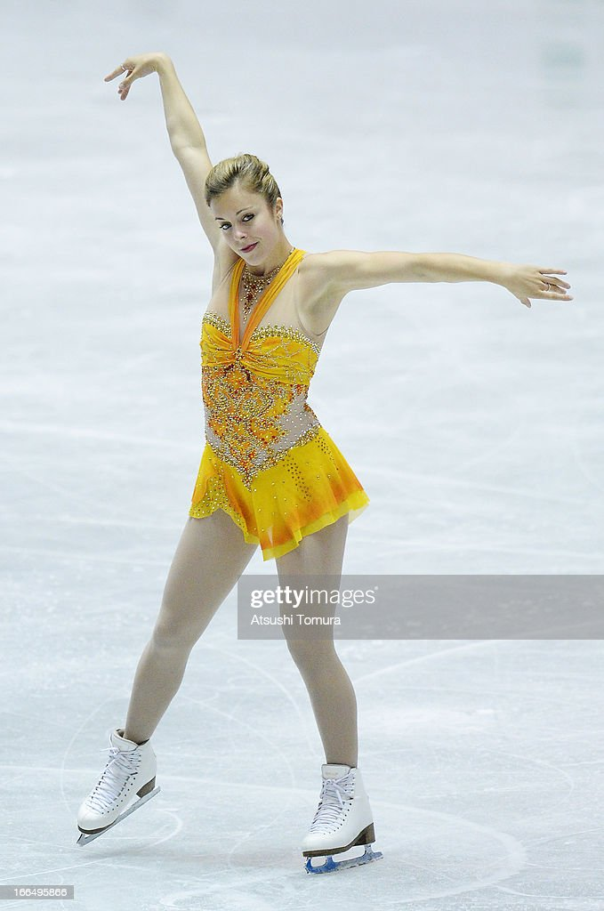 <a gi-track='captionPersonalityLinkClicked' href=/galleries/search?phrase=Ashley+Wagner&family=editorial&specificpeople=2564533 ng-click='$event.stopPropagation()'>Ashley Wagner</a> of USA competes in the ladies's free skating during day three of the ISU World Team Trophy at Yoyogi National Gymnasium on April 13, 2013 in Tokyo, Japan.