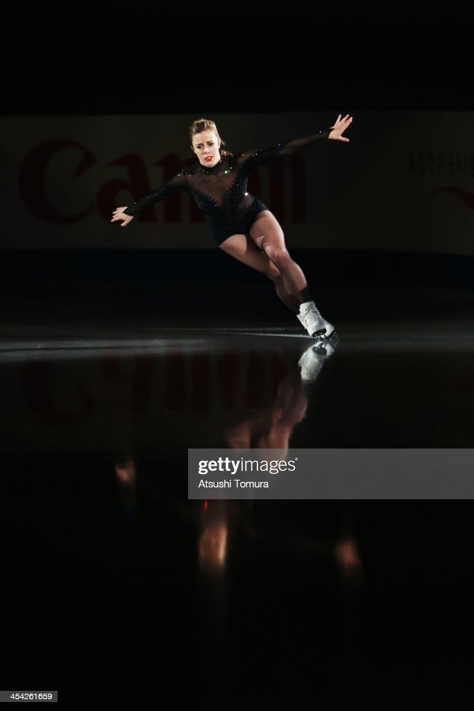 <a gi-track='captionPersonalityLinkClicked' href=/galleries/search?phrase=Ashley+Wagner&family=editorial&specificpeople=2564533 ng-click='$event.stopPropagation()'>Ashley Wagner</a> of USA performs her routine in the Gala during day four of the ISU Grand Prix of Figure Skating Final 2013/2014 at Marine Messe Fukuoka on December 8, 2013 in Fukuoka, Japan.