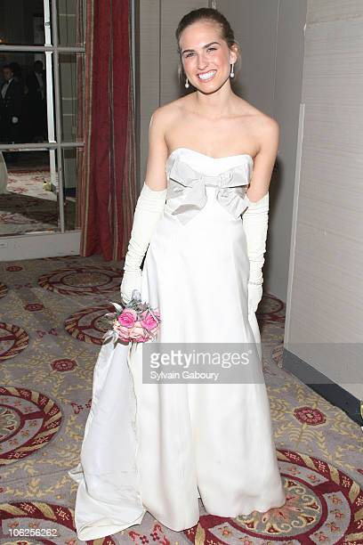 Ashley Walker Bush during The 52nd International Debutante Ball Receiving Line at The Waldorf Astoria in New York City New York United States