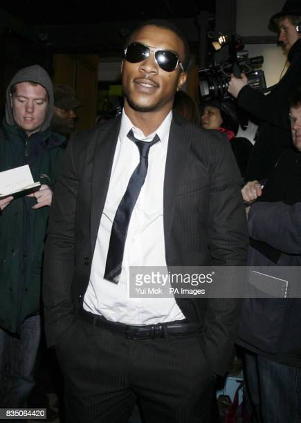 Ashley Walters arrives at The Screen Nation Film and Television Awards 2008 at BAFTA in Piccadilly central London