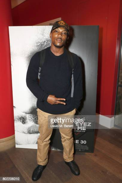 Ashley Walters attends a special screening of 'All Eyez On Me' at The Ham Yard Hotel on June 27 2017 in London England