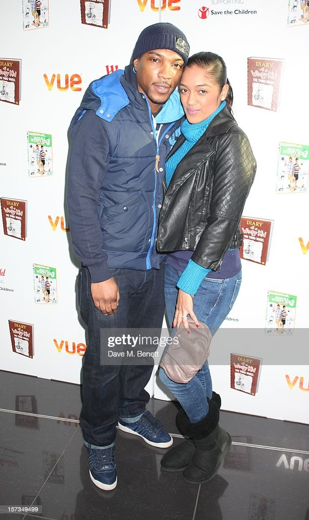 Ashley Walters attends 'Diary of a Wimpy Kid' UK dvd Premiere at Vue Westfield on December 02, 2012 in London, England.