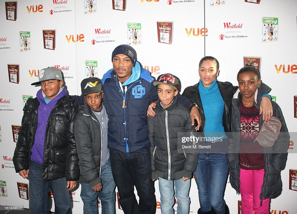 <a gi-track='captionPersonalityLinkClicked' href=/galleries/search?phrase=Ashley+Walters&family=editorial&specificpeople=761168 ng-click='$event.stopPropagation()'>Ashley Walters</a> attends 'Diary of a Wimpy Kid' UK dvd Premiere at Vue Westfield on December 02, 2012 in London, England.