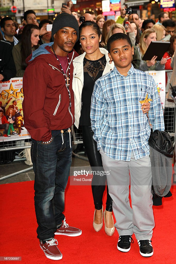 Ashley Walters attends the UK Premiere of 'All Stars' at Vue West End on April 22, 2013 in London, England.