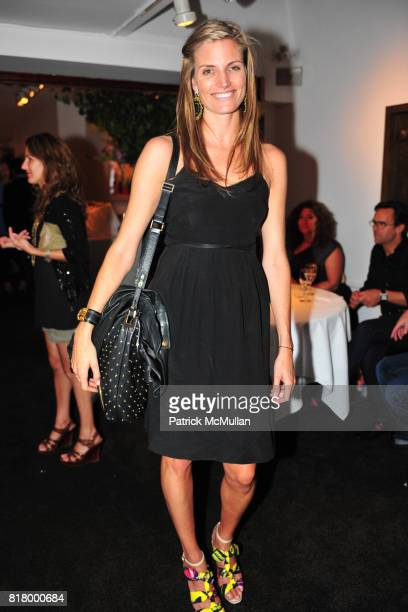 Ashley Wick attends THE RUFFIAN BOYS Host a Caviar and Champagne Dinner at Michaels West 55th St on September 9 2010 in New York City