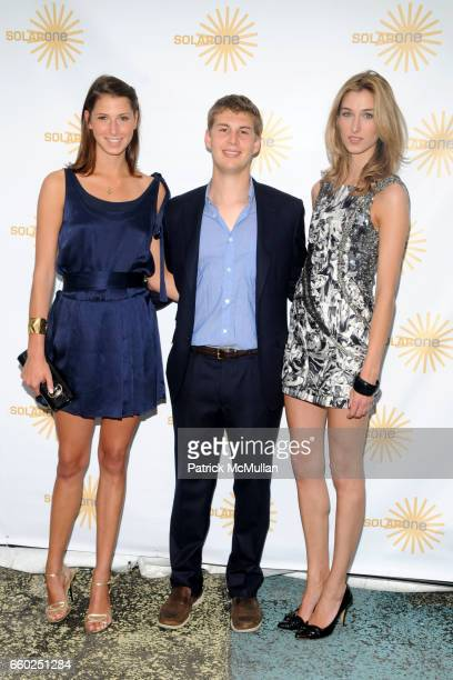 Ashley Wilcox Platt Paul Dupont and Lauren Remington Platt attend SOLAR 1's Revelry By The River Honors MATTHEW MODINE KICK KENNEDY HSBC at...