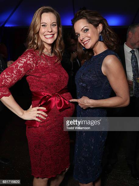 Ashley Williams and Kimberly WilliamsPaisley attend the Hallmark Channel And Hallmark Movies And Mysteries Winter 2017 TCA Press Tour at The...