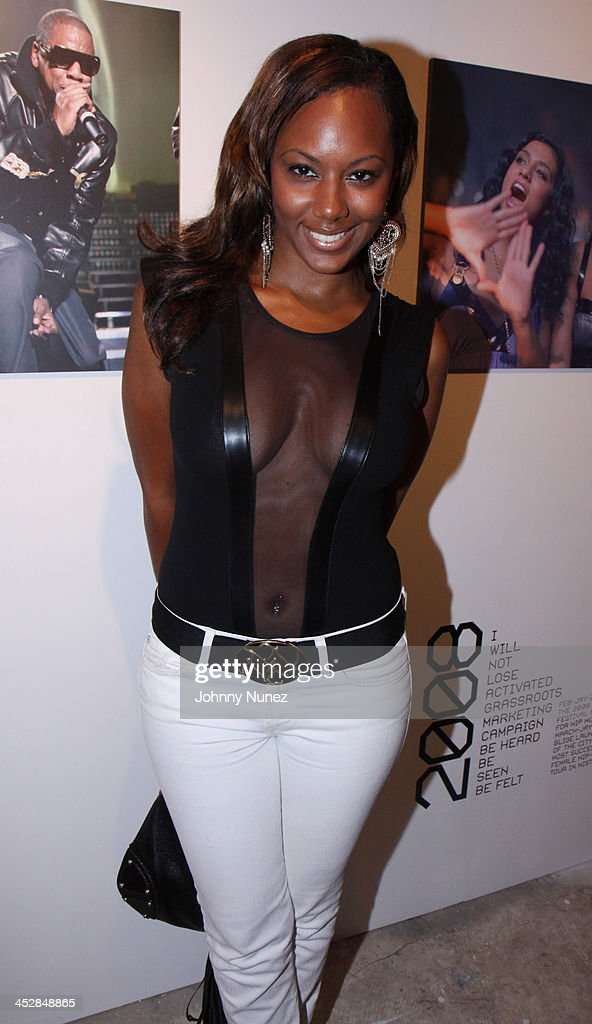 Ashlie Gray attends Rocawear's 10th Anniversary party at the Rocawear Showroom on August 10, 2009 in New York City.