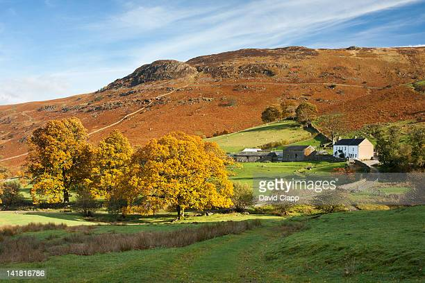 Ashness Farm in the Lake District, Cumbria, England, UK