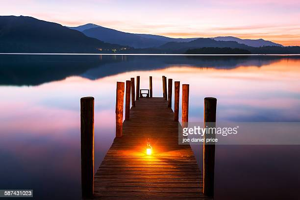 Ashness jetty, Keswick, lake district, Cumbria, UK