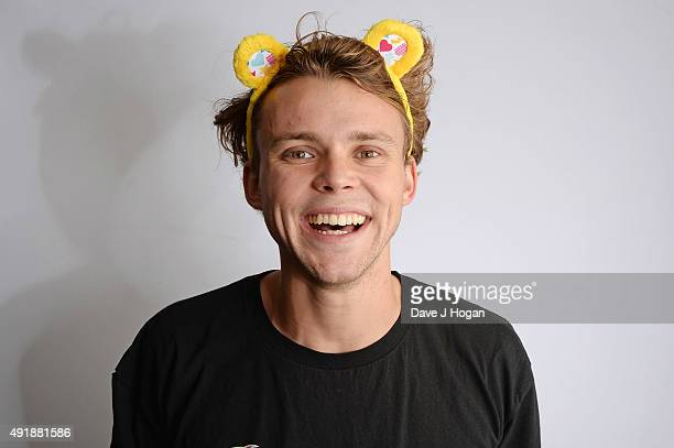Ashton Irwin of 5 Seconds of Summer supports BBC Children in Need at One Big Night at SSE Arena Wembley on October 8 2015 in London England