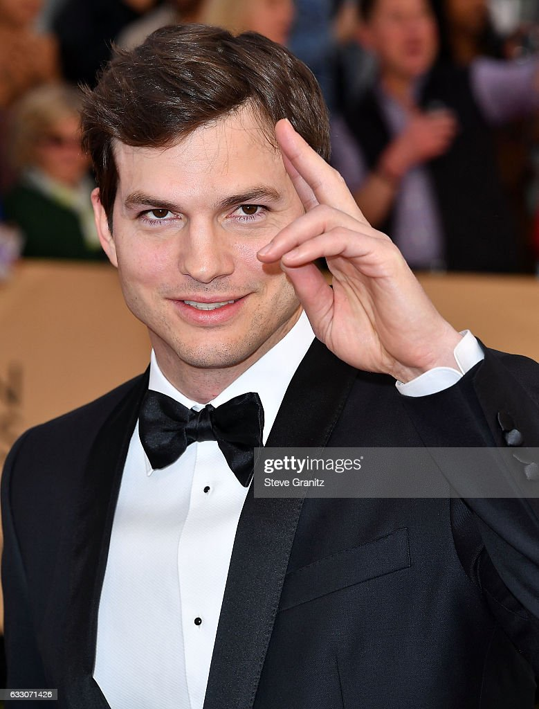 Ashton Kutcher arrives at the 23rd Annual Screen Actors Guild Awards at The Shrine Expo Hall on January 29, 2017 in Los Angeles, California.