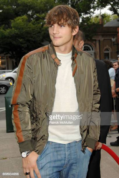 Ashton Kutcher attends 'SPREAD' Premiere with GOTHAM HAMPTONS magazines at UA East Hampton Theater on August 8 2009 in East Hampton NY