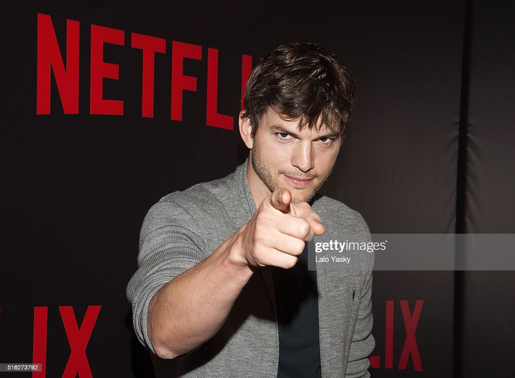 Ashton Kutcher attends the 'Netflix Red Carpet' event at the Four Seasons Hotel on March 17 2016 in Buenos Aires Argentina