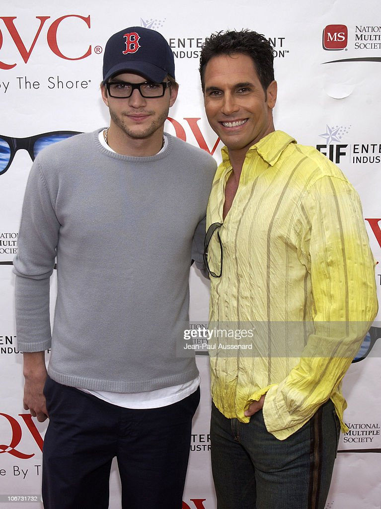 Ashton Kutcher Don Diamont during 6th Annual 'QVC's Cure by the Shore' to Benefit the National Multiple Sclerosis Society at Private Residence in...
