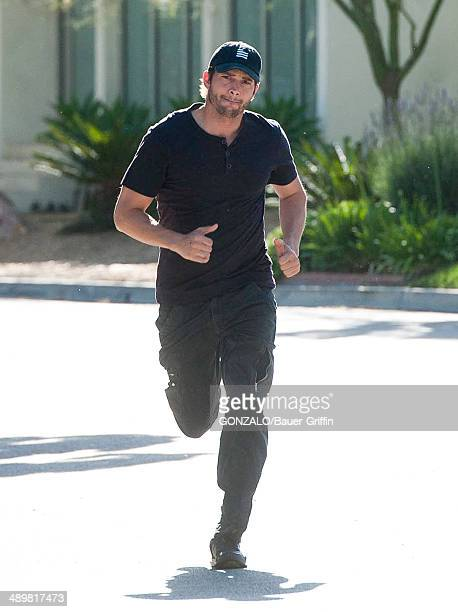 Ashton Kutcher is seen on May 12 2014 in Los Angeles California