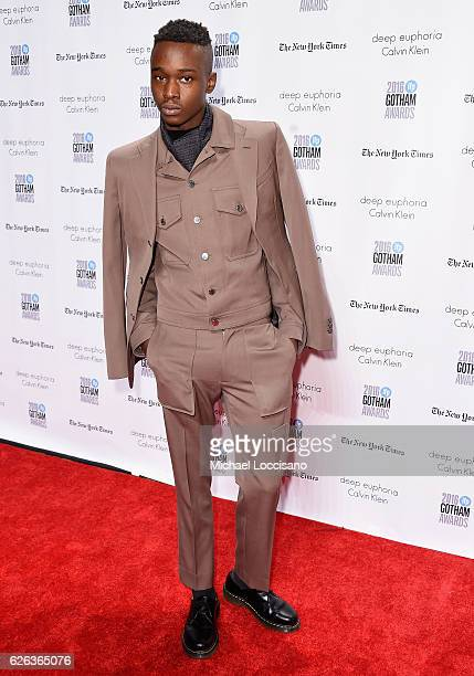 Ashton Sanders attends the 26th Annual Gotham Independent Film Awards at Cipriani Wall Street on November 28 2016 in New York City