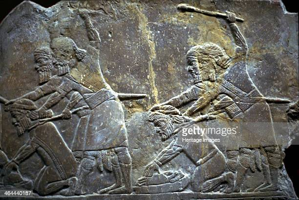 Ashurbanipal at the Battle of TilTuba 650620 BC Found in the collection of the State Hermitage St Petersburg