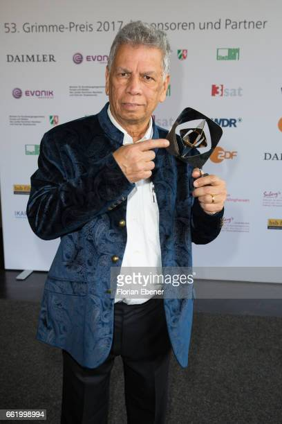 Ashwin Raman attends the 53rd Grimme Award at Theater Marl on March 31 2017 in Marl Germany