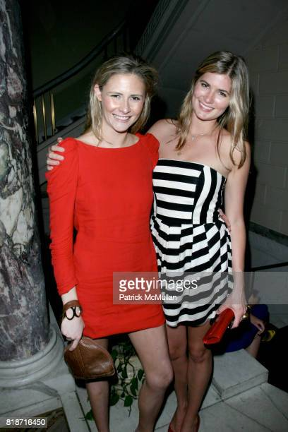 Asia and Callie Baker attend The YOUNG PATRONS CIRCLE of AMERICAN FRIENDS Hosts SOIREE AU LOUVRE at Payne Whitney Mansion on June 3 2010