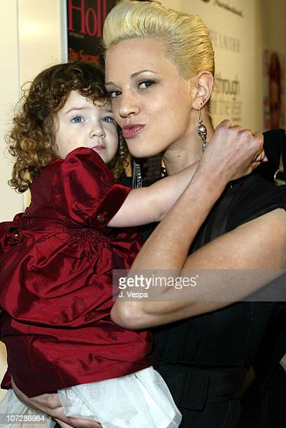 Asia Argento and Anna Lou during Movieline's Hollywood Life's 3rd Annual Breakthrough of the Year Awards Arrivals at The Highlands in Hollywood...