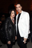 Asia Argento and Marracash attend Diesel FW14 Collection Presentation Show at Tese di San Cristoforo on April 3 2014 in Venice Italy