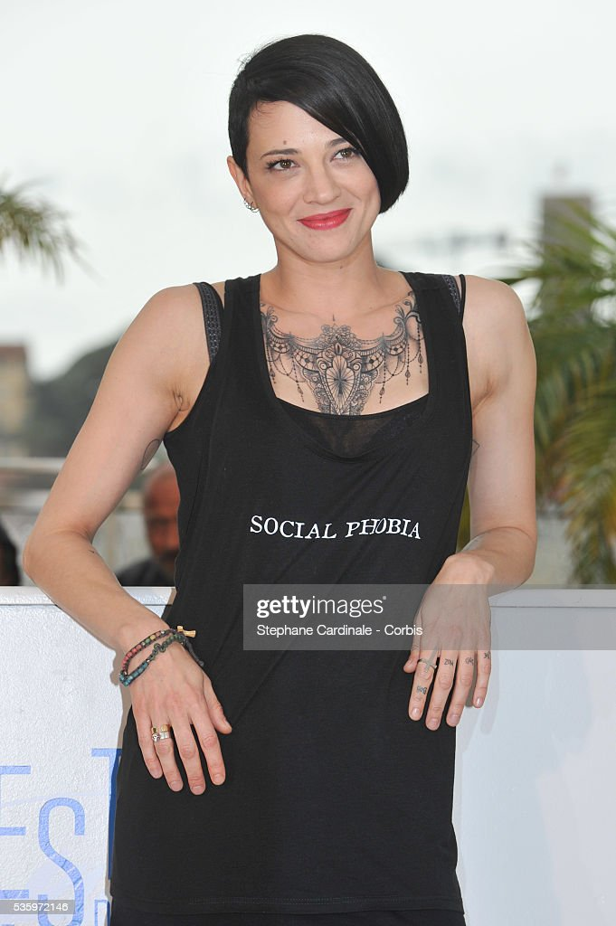 Asia Argento attend the 'Incompresa' photocall during the 67th Cannes Film Festival