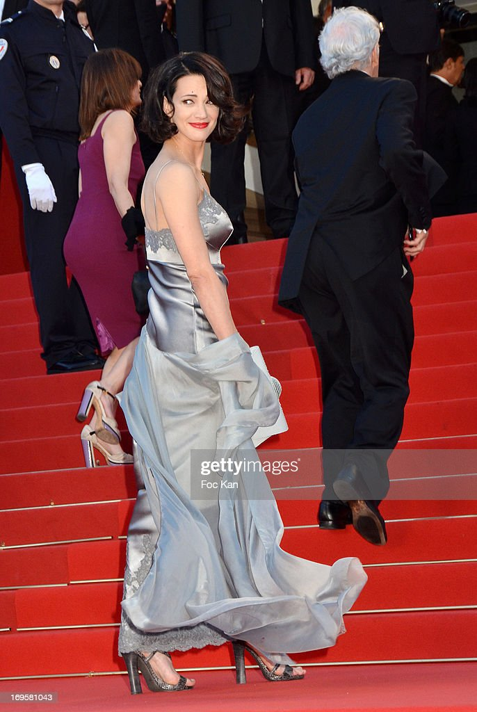 Asia Argento attends the Premiere of 'Zulu' and the Closing Ceremony of The 66th Annual Cannes Film Festival at Palais des Festivals on May 26, 2013 in Cannes, France.