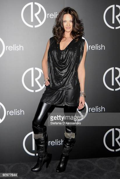 Asia Argento attends the Relish Fashion Show on November 10 2009 in Milan Italy