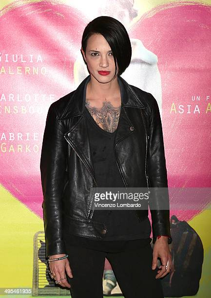 Asia Argento attends the screening of the film 'Incompresa' on June 3 2014 in Milan Italy