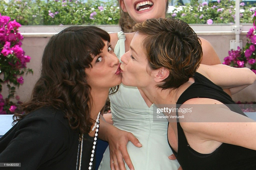 Asia Argento Bianca Balti and Stefania Rocca during 2007 Cannes Film Festival 'Go Go Tales' Photocall at Palais des Festivals in Cannes France