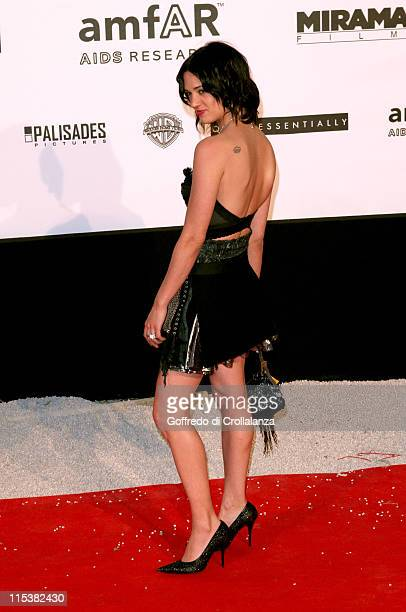 Asia Argento during 2005 Cannes Film Festival AmFar Party Arrivals in Cannes France