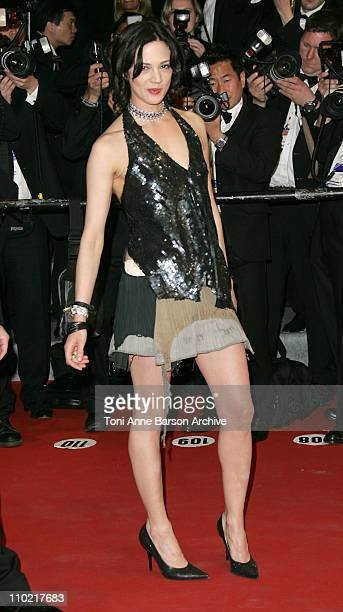 Asia Argento during 2005 Cannes Film Festival 'Last Days' Premiere at Palais Du Festival in Cannes France
