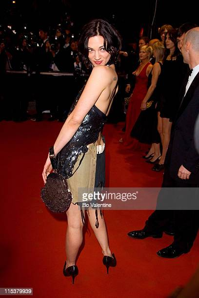 Asia Argento during 2005 Cannes Film Festival 'Last Days' Premiere at Palais des Festival in Cannes France