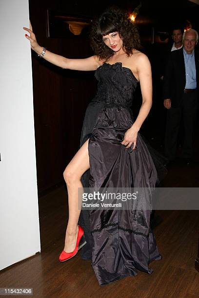 Asia Argento during 2007 Cannes Film Festival 'Go Go Tales' Premiere After Party at Hilton in Cannes France