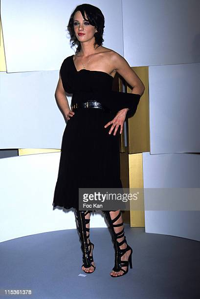Asia Argento during 30th Cesars Awards at Presse Room Theatre du Chatelet in Paris France