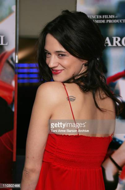 Asia Argento during 'Transylvania' Premiere Arrivals at UGC CIne Cite Les Halles in Paris France