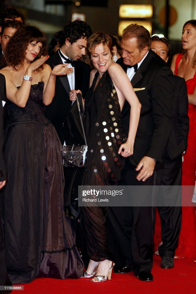 Asia Argento Stefania Rocca and Joe Cortese during 2007 Cannes Film Festival 'Go Go Tales' Premiere at Palais des Festivals in Cannes France