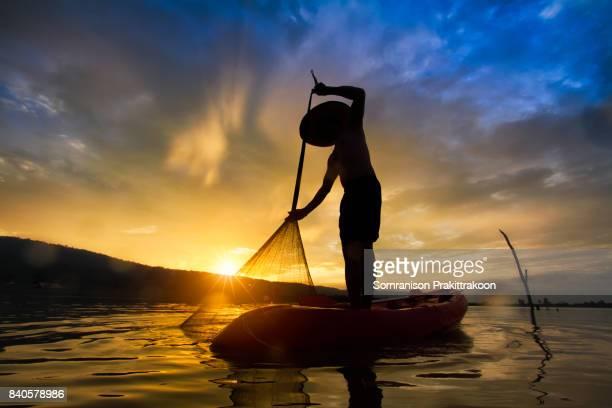Asia fisherman in Myanmar