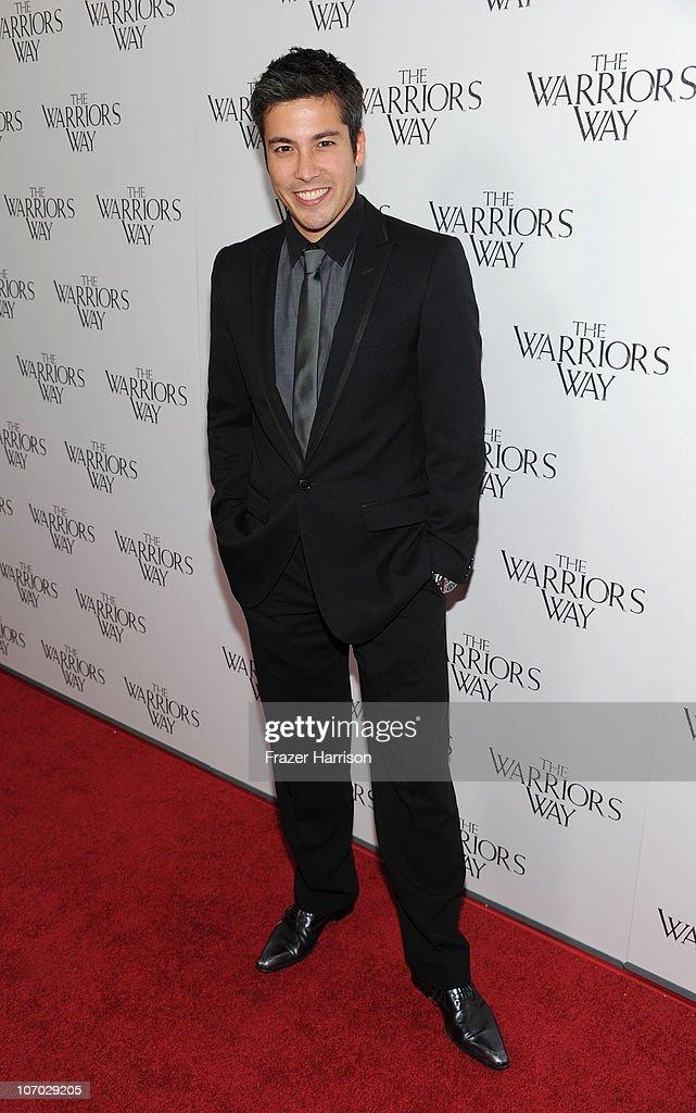 Asia host Max Loong arrives at 'The Warrior's Way' screening held at CGV Cinemas on November 19, 2010 in Los Angeles, California.