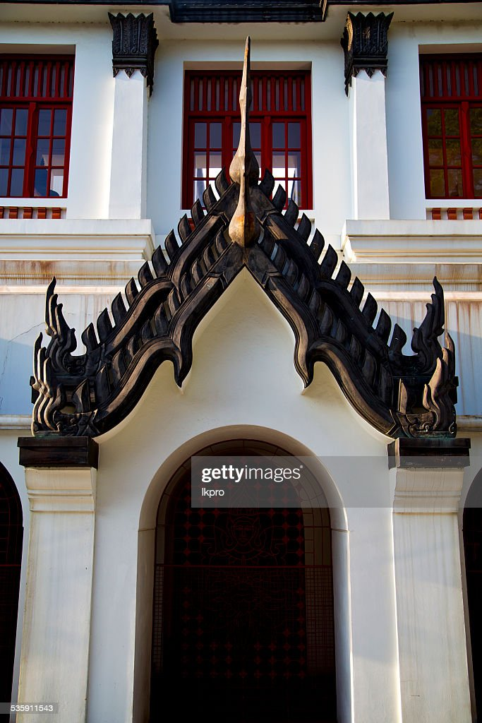 asia  thailand  in     temple abstract  roof wat  palaces   reli : Stock Photo