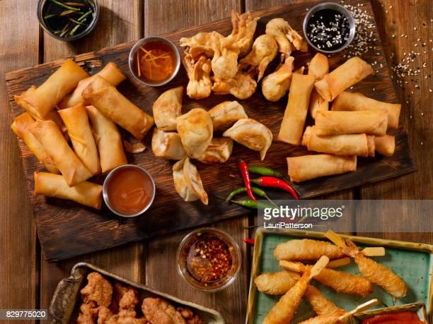 Asiatische Snacks