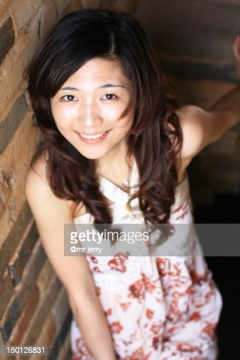 Asian beauty : Stock Photo