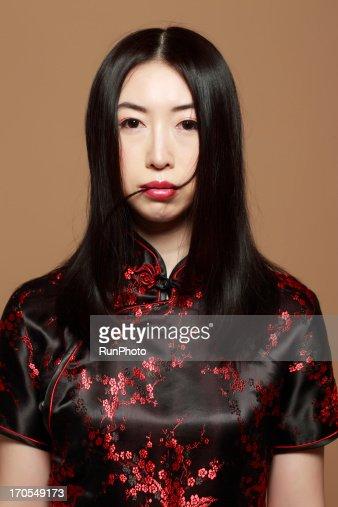 Asian Beauty : Stock Photo