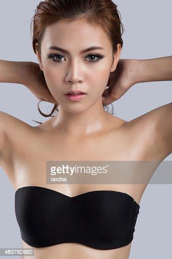 Asian Beautysexy Woman Model Stock Photo Thinkstock