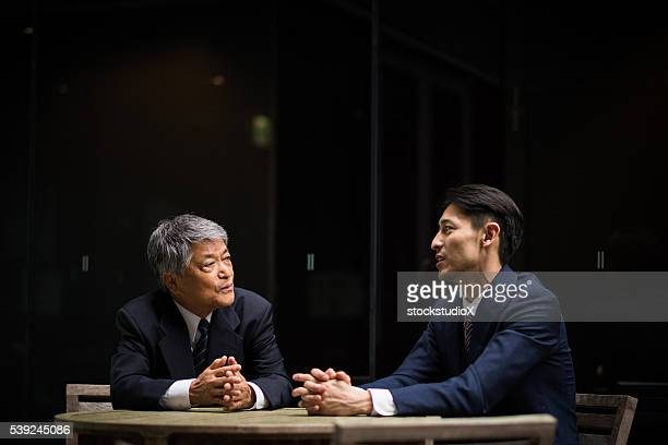 Asian business Meetings