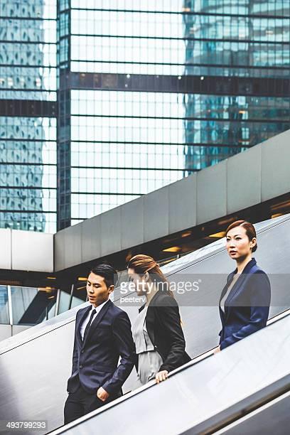 Asian business Personen.
