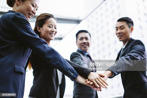 Asian Business Team Cooperation
